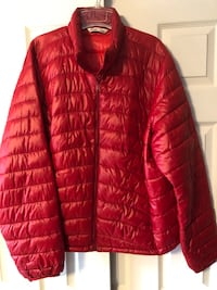 Old Navy Women's Sz XXL Lightweight Puffer Jacket/Coat, Red Baltimore, 21236