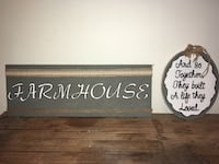 2 Farmhouse Wall Decor (both Included) Jefferson, 30549