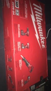 Milwaukee 4 peice  3733 km