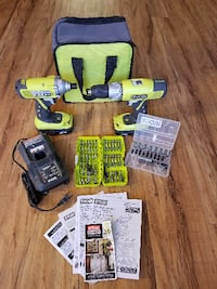 Ryori Drill / Driver Combo Set with Carrying Case. - WOW! Burbank
