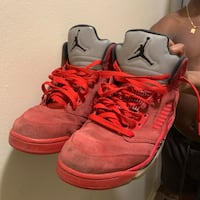 Air Jordan Retro 5 Suede (Red) Toronto, M6N