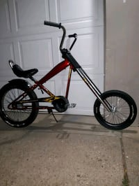 Harley-Davidson chopper bicycle