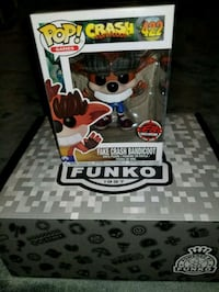 Crash Bandicoot exclusive funko pop  Toronto, M1L 2T3