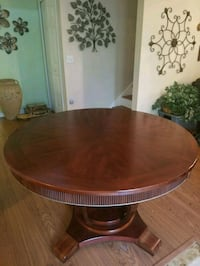 Solid Wood Round Dining Table 646 mi
