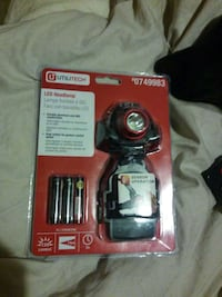 black and red Utilitech LED headlamp in box Jacksonville, 32206