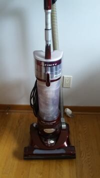 Gray and black upright vacuum cleaner Toronto, M8W 2A1