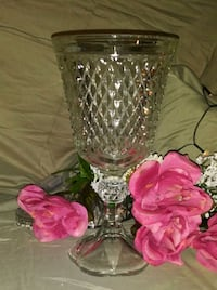 Beautiful vases and punch bowl w/ cups