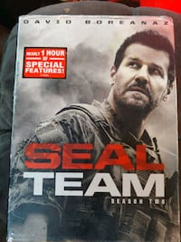 Dvd seal team season 2 new in tetail pkg