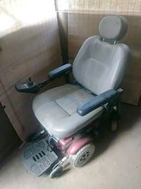 gray and red motorized wheelchair Catonsville, 21228