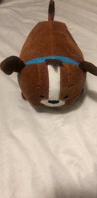 brown and white Tsum Tsum dog plush toy 2258 mi
