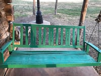 Old Wooden Porch Swing Amarillo, 79103