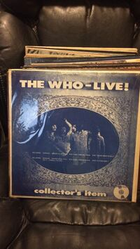 The Who-Live Collector's Item vinyl!!