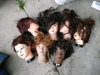 Mannequin heads Cosmo dolls Los Angeles