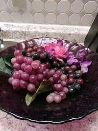 glass bowl with grapes Bridgeport, 76426