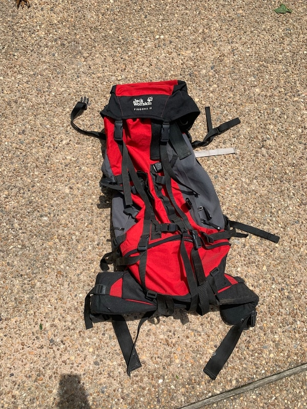 Backpacking backpack hiking camping backpack jack wolfskin