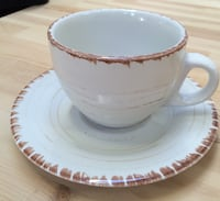 NEW Cappuccino cups and saucers Gatineau, J9J