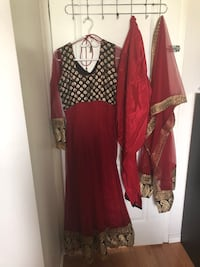 Red/black indian outfit Vaughan, L6A 2K8