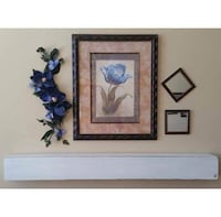 "Fireplace mantel or shelf 60"" length"