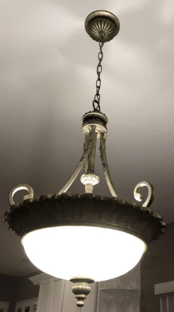 Royce Lighting Verona Collection Flush Mount Chandelier 1