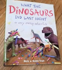 What The Dinosaurs Did Last Night- Book - New! Manassas, 20110