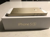Apple iPhone 5S - 16Gb - With the BOX! - Unlocked GOLD Montreal