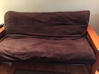 "Sofa bed Futon frame and 6"" mattress and mattress cover  included Vaughan, L4L 9N3"