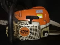 "STIHL MS 311/36"" bar new chain 68 km"