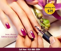 SPECIAL SHELLAC MANICURE CAD$25 (Regular $45) Mississauga