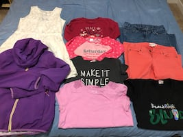 Girl's assorted clothing