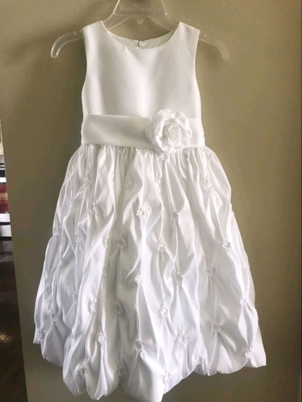 first holly communion or flower girl dress