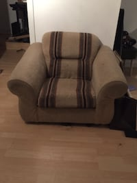 gray and black fabric sofa chair VANCOUVER