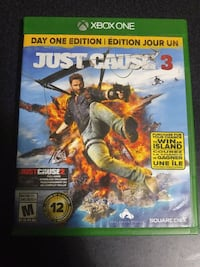 Just Cause 3 Xbox One game case Victoria, V9C 4G1