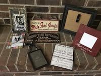 Great deal!! Lot of frames and pics/ perfect for gifts or to decorate  Knoxville, 37922