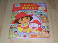 """Dora - When I Grow Up First Look And Find Book (Large 12"""" X 10"""" Size) Surrey"""