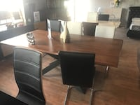 Modern Solid wood dining table Toronto