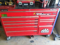 red Snap-On tool chest Rocklin, 95677