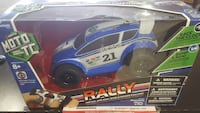 blue and white rally car toy Mississauga, L5N 8J4