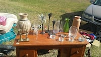 Vases and candle holders Waco, 76708