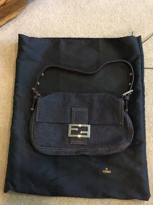 Used Authentic Fendi Denim Bag for sale in CHICAGO - letgo c6e15379132bc
