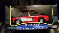 red Motor Max die-cast toy car in box Barrie, L4M