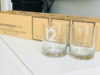 BRAND NEW! Gluckstein - 12 Old Fashion Glasses - Made of Crystalline Glass Toronto, M3H 2S6