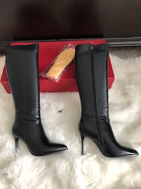 Black Calf hi boots