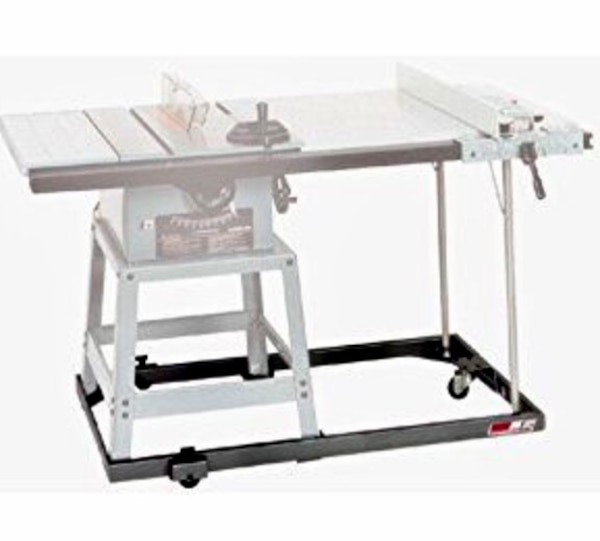 Htc Hrd 10x Mobile Base For Delta 10 Inch Contractor Table Saw With 30 Inch Unifence
