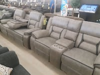 Reclining Sofa and love Chalmette
