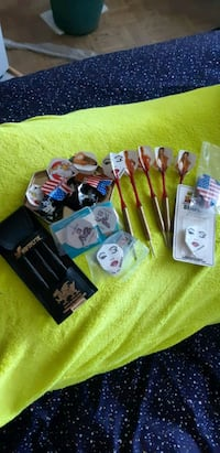 British darts and accessories. $45 FIRM Mississauga, L4Y 2N9