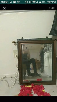 1 1/2ft by 2ft mirror small chip in corner Bakersfield, 93304