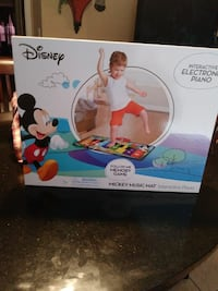 Disney Interactive Electronic Piano Mickey Music Mat box Saint Cloud, 34769