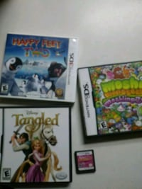 three Nintendo DS game cases Bakersfield, 93306