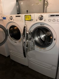 LG TROMM front load washer & dryer set in excellent conditions 46 mi