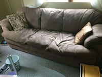 Free 3 seater beige couch  Orillia